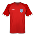 2010-11 England World Cup Away Shirt