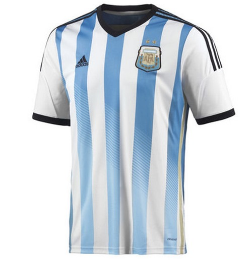 cf89fb7ac Buy Official 2014-15 Argentina Home World Cup Football Shirt