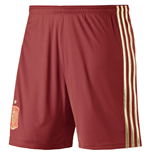 2014-15 Spain Home World Cup Football Shorts