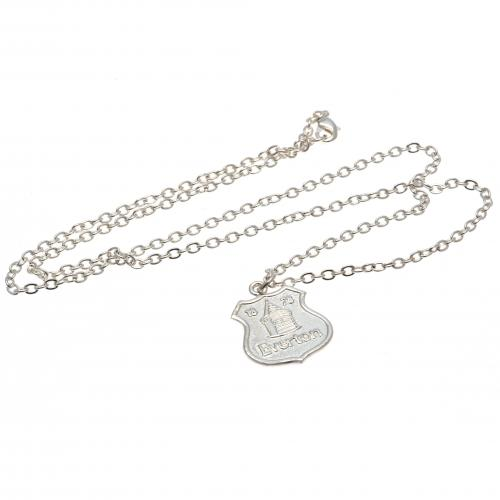 Everton F.C. Silver Plated Pendant and Chain