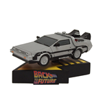 Back to the Future Shakems Bobble Statue Delorean Time Machine 18 x 13 cm