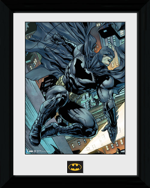 Batman Swing Framed Print