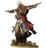 Assassin´s Creed IV Black Flag PVC Statue Edward Kenway The Assassin Pirate 24 cm