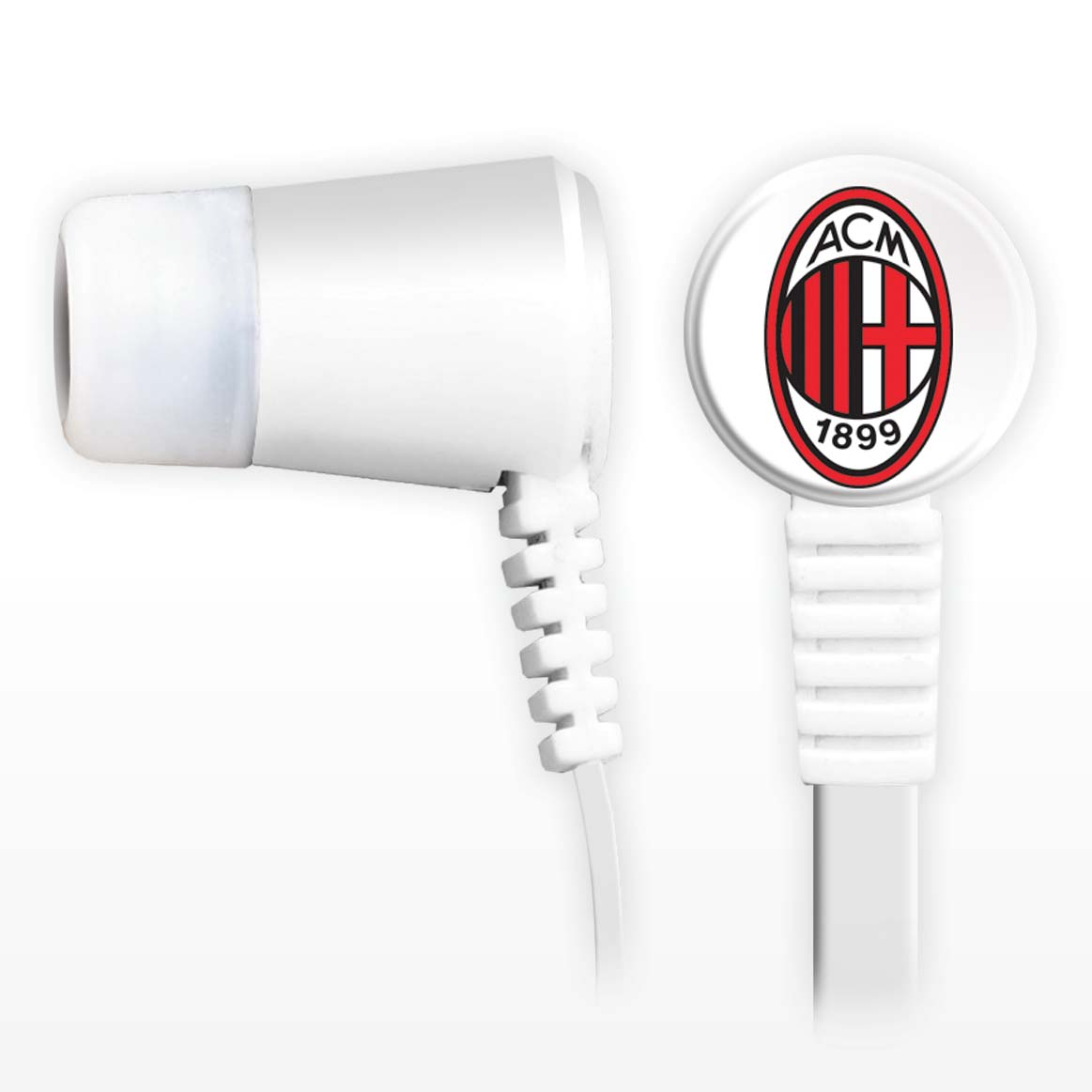 AC Milan Earbuds with remote and mic