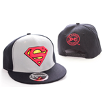 Superman Adjustable Cap College black/grey