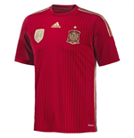 2014-15 Spain Home World Cup Football Shirt (Kids)