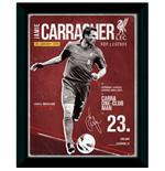 Liverpool F.C. Picture Carragher Retro 16 x 12