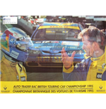 BTCC Memorabilia Williams Renault Poster 1995