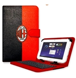 AC Milan Tablet Cover with Keyboard