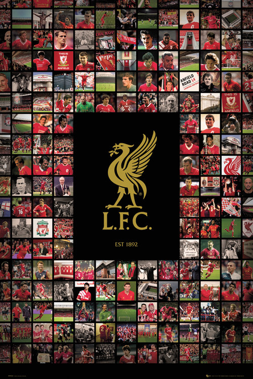 Liverpool Compilation Maxi Poster