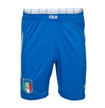 2014-15 Italy Puma Home Shorts (Blue) - Kids