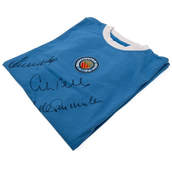 Manchester City F.C. Bell / Lee / Summerbee Signed Shirt