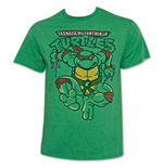 TEENAGE MUTANT NINJA TURTLES Green Raphael Attack TShirt