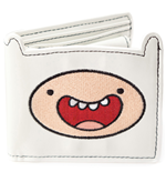 ADVENTURE TIME Finn Bifold Wallet, White