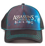 ASSASSIN'S CREED IV Black Flag Adjustable Cap with Print Logo, Black