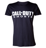 CALL OF DUTY Ghosts Men's Logo Small T-Shirt, Black