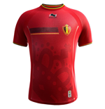 2014-15 Belgium Home World Cup Football Shirt
