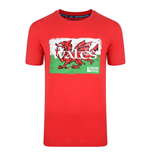 Wales Rwc 2015 Rugby T-shirt (red)
