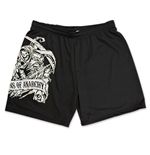 SONS OF ANARCHY Black Reaper Crew Gym Shorts