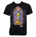 Nintendo The LEGEND OF ZELDA Wind Waker Stained Glass T-Shirt