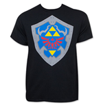 Nintendo Men's Zelda Simple Shield Tee Shirt