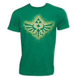 Nintendo Green Triforce Zelda T-Shirt
