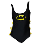 BATMAN One Piece Women's Bow Bathing Suit