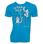 REGULAR SHOW In Your Face Blue T-Shirt