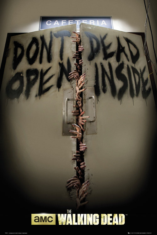 The Walking Dead Keep Out Maxi Poster