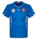 2014-15 Slovakia Away Puma Football Shirt