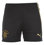 2013-14 Rangers Away Football Shorts (Navy) - Kids