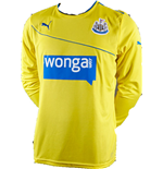 2013-14 Newcastle 3rd Long Sleeve Shirt (Kids)