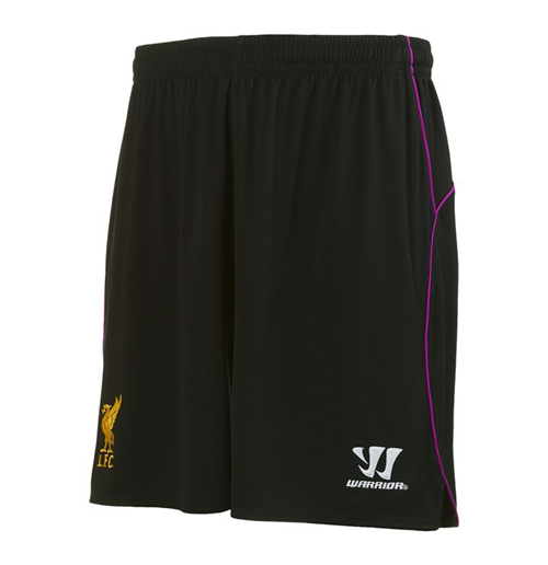 2014-15 Liverpool Home Goalkeeper Shorts (Black) - Kids