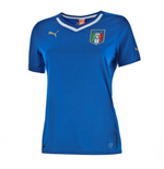 2014-15 Italy Home World Cup Womens Shirt