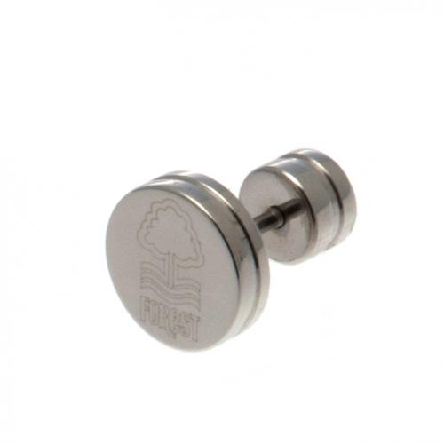Nottingham Forest F.C. Stainless Steel Stud Earring