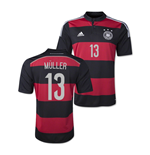 2014-15 Germany World Cup Away Shirt (Muller 13)