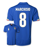 2014-15 Italy World Cup Home Shirt (Marchisio 8)