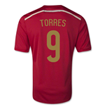 2014-15 Spain World Cup Home Shirt (Torres 9) - Kids