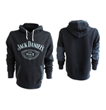 JACK DANIEL'S Classic Old No. 7 Extra Extra Large Hoodie, Black
