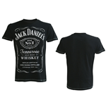 JACK DANIEL'S Classic Logo Men's Large T-Shirt, Black