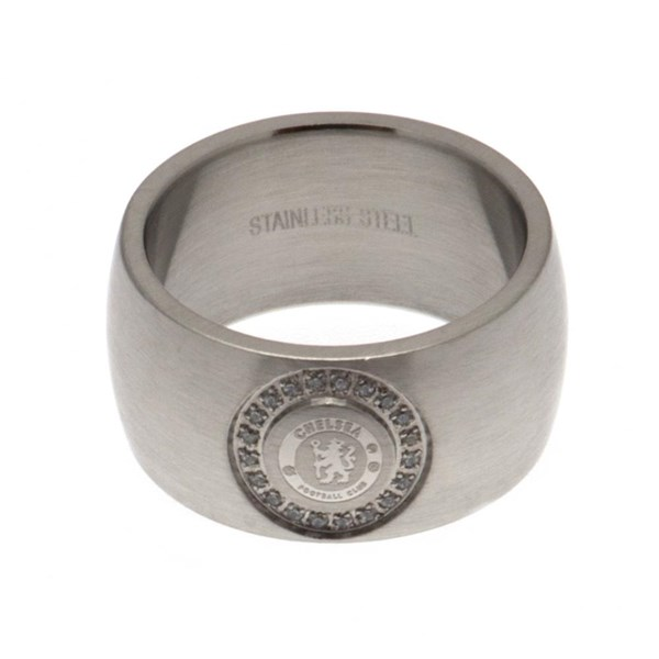 Chelsea F.C. Stone Set Ring Medium