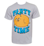 ADVENTURE TIME Men's Party Time Tee Shirt