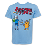ADVENTURE TIME Block Fist Bump Tee Shirt