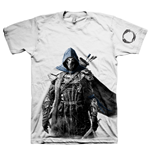 THE ELDER SCROLLS ONLINE Tibesman of the Bretons Extra Large T-Shirt, Light Grey