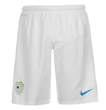 2014-15 Slovenia Nike Home Shorts (White)
