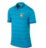 2014-15 Brazil Nike Authentic League Polo Shirt (Blue)