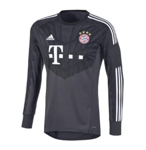 size 40 51521 b4ab3 2014-15 Bayern Munich Adidas Home Goalkeeper Shirt (Kids)