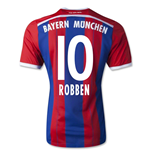 2014-15 Bayern Munich Home Shirt (Robben 10)