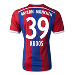 2014-15 Bayern Munich Home Shirt (Kroos 39) - Kids