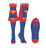 SUPERMAN Over The Knee High Women's Costume Socks